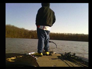 Melvin smitson potomac river bass fishing report april for Potomac river fishing report