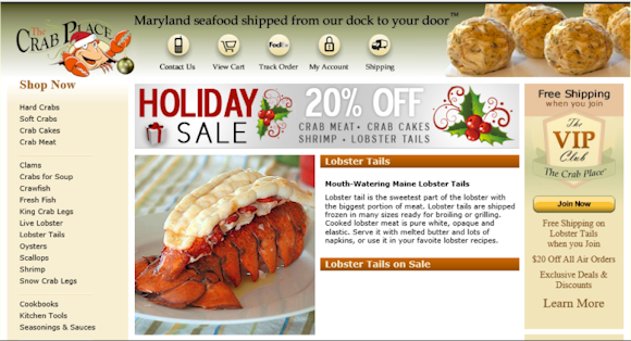 Melvin Smitson :: Buy Seafood Online