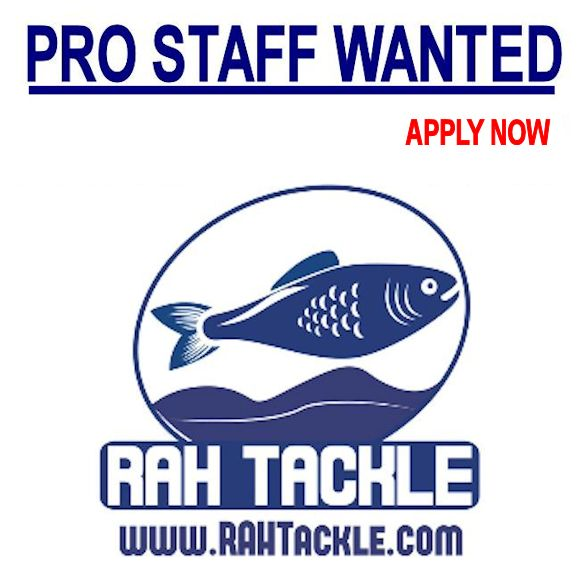 Melvin smitson fishing pro staff wanted at rah tackle for Fishing pro staff