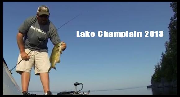 Melvin smitson lake champlain bass fishing report july for Lake champlain fishing report