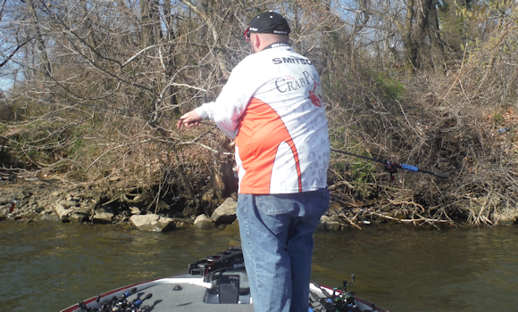 Melvin smitson potomac river bass fishing report 4 11 15 for Fishing conditions today