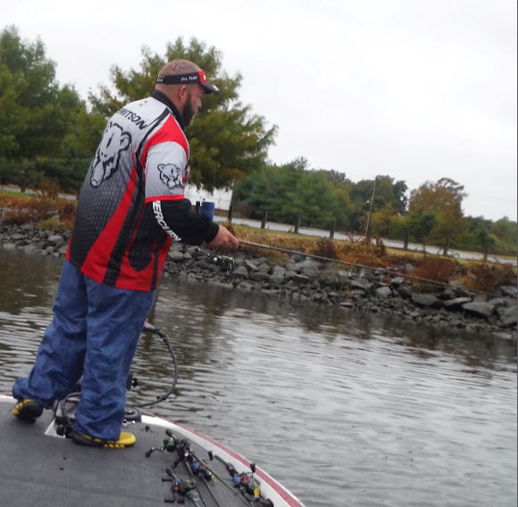 Melvin Smitson Nanticoke River Bass Fishing Report Oct
